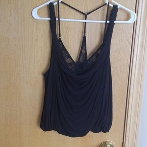 Fantastic Free People black tank ... XS